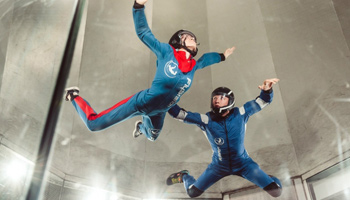 Flight in Windtunnel